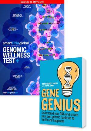 Genomic Wellness Plus Test Upgrade + Gene Genius Book